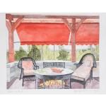 10x12, Berkshires, Watercolor