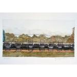 5.5x10.25, Landscape, Berkshires, Watercolor