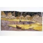 8.5x18, Landscape, Berkshires, Watercolor