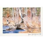 4x6, Landscape, Berkshires, Private Collection, Watercolor