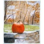 5x4, Landscape, Berkshires, Private Collection, Watercolor