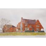 11x18, Landscape, Berkshires, Watercolor