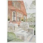 12x8, Still Life, Berkshires, Watercolor