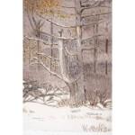 6x4, Landscape, Berkshires, Private Collection, Watercolor