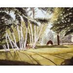 8x12, Landscape, Berkshires, Private Collection, Watercolor