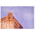 4x6, Landscape, Corsica, Watercolor