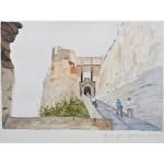 4x6, Still Life, Corsica, Watercolor
