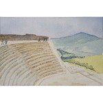 4x6, Sicily, Watercolor