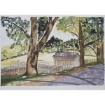8X12, Landscape, Maine, Watercolor