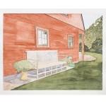 12 x15 1/4, Landscape, Berkshires, Watercolor
