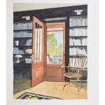 10 3/4 x 8 1/4, Still LIfe, Berkshires, Watercolor