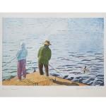 8 x12, Landscape, Maine, Watercolor