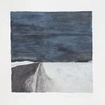 7 1/2 x 7 1/2, Landscape, Maine, Watercolor