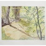 8 1/4 x 10 3/4, Landscape, Berkshires, Watercolor